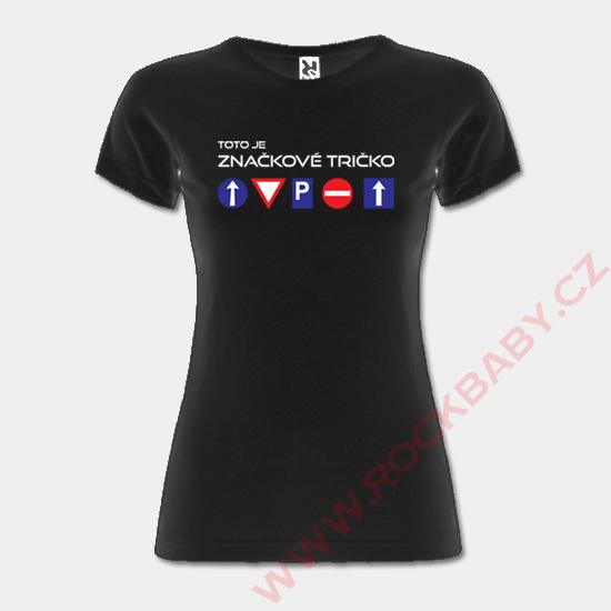 Dámské tričko - Značkové tričko  00452b00ba