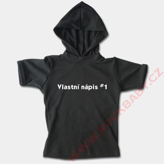 17bdfd088607 Detské tričko s kapucňou