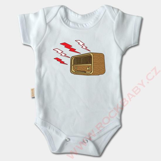 92a6b1337 Old schoolovej motívy na dojčenských body s krátky | Rock Baby s.r.o.