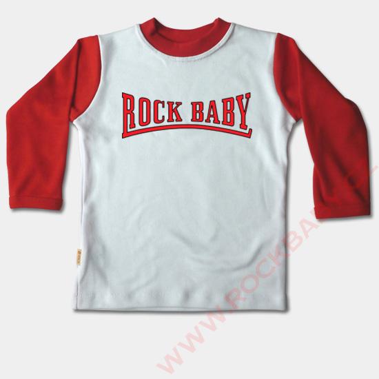 798594b0d6b1 Dětské tričko dlouhý rukáv - Rock Baby 3