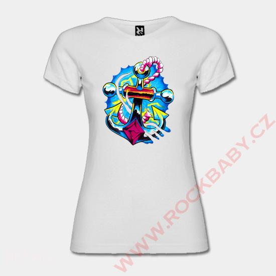 8bb9c83860b4 Dámské tričko - Kotva Dámské tričko - Kotva ...