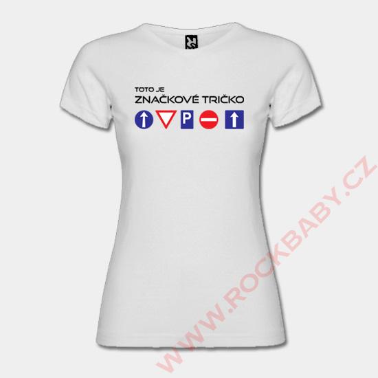 Dámské tričko - Značkové tričko Dámské tričko - Značkové tričko 0e8673b126