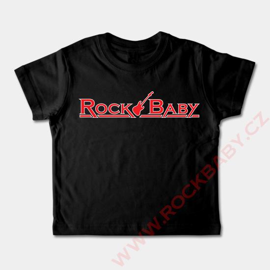 0b20a15935c Dětské tričko krátký rukáv - Rock Baby