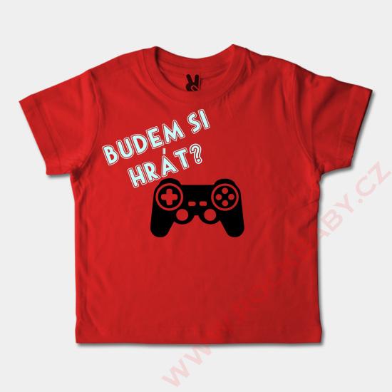... Dětské tričko krátký rukáv - Budem si hrát 966ea69b3e