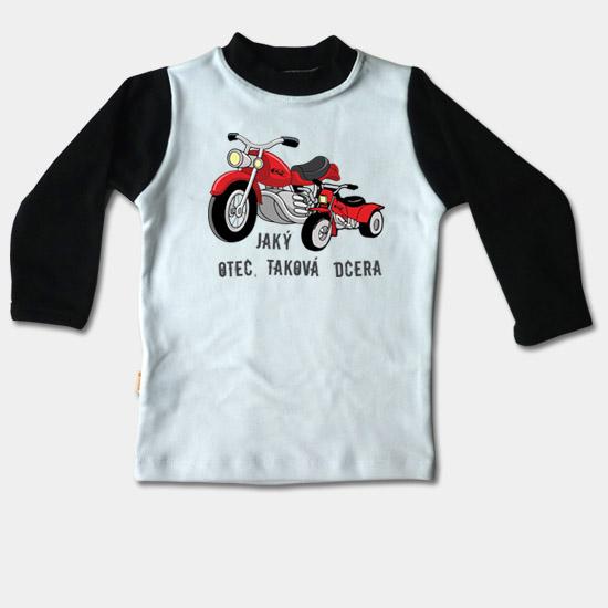 2cc61f7c5d7d ... Detské tričko dlhý rukáv -Jaký otec