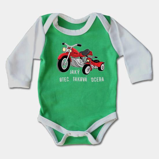 8dd529088dce ... Dojčenské body dlhý rukáv - Jaký otec